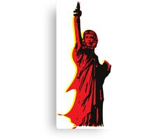 Strange statue of Che Canvas Print