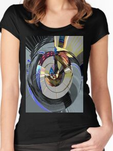 Music in the round Women's Fitted Scoop T-Shirt