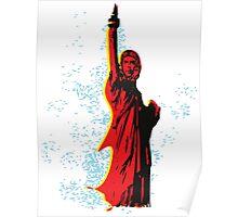 Statue of Che Poster