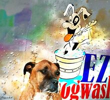 At Dog Wash 01 by kevin chippindall