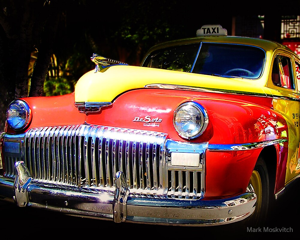 DeSoto Taxi by Mark Moskvitch