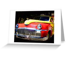 DeSoto Taxi Greeting Card