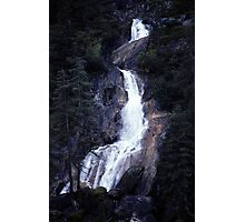 Waterfall (part 2) Photographic Print