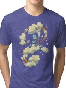 Flying Robot Tri-blend T-Shirt