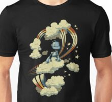 Flying Robot Unisex T-Shirt