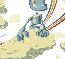 Flying Robot Sticker
