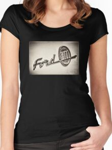 Ford F-100 Women's Fitted Scoop T-Shirt
