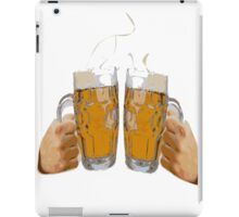 Cheers, with two beers iPad Case/Skin