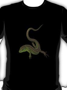 green lizard T-Shirt