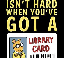 Arthur Library Card by RACHELRAE09