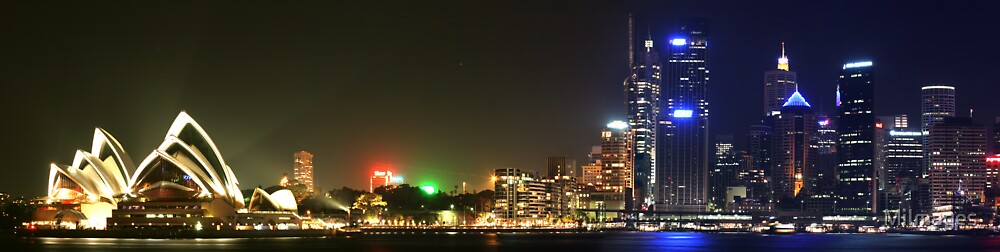 Panorama Of The Opera House Skyline by MiImages