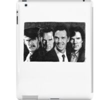 The Many Faces of Benedict Cumberbatch iPad Case/Skin