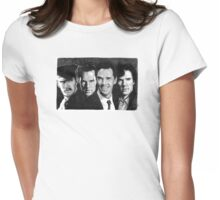 The Many Faces of Benedict Cumberbatch Womens Fitted T-Shirt