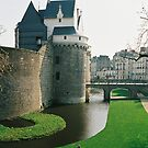 The Castle in Nantes, France by julie08