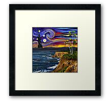 Starry Surreal Framed Print