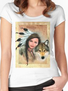 Native Beauty Women's Fitted Scoop T-Shirt