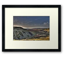 Gritstone Framed Print