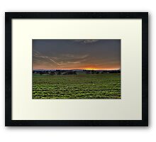 Cheshire Plain Framed Print
