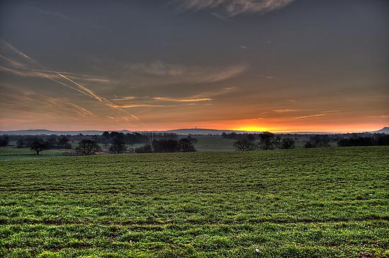 Cheshire Plain by Andrew Dunwoody