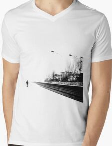 Life is one big road... Mens V-Neck T-Shirt