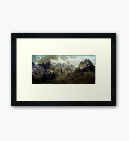 It dwells in another heaven and earth belonging to no man. Framed Print