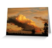 Chasing the Cloud : Stormy 2 Greeting Card