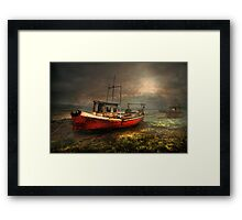 On the Estuary Framed Print
