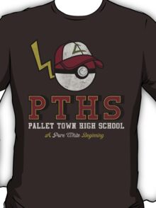 Pallet Town High School T-Shirt