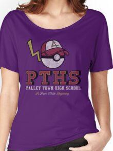 Pallet Town High School Women's Relaxed Fit T-Shirt