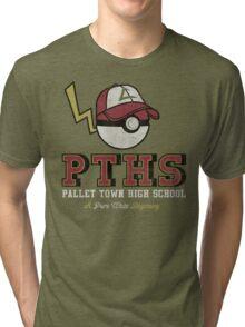 Pallet Town High School Tri-blend T-Shirt