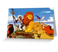 Mufasa's Pride Greeting Card
