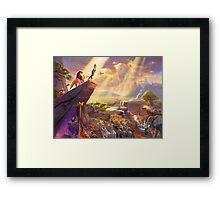 Simba's Pride Framed Print