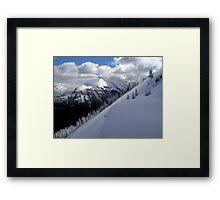 From Mount Sulphur Framed Print