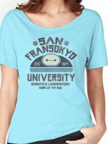 San Fransokyo University Women's Relaxed Fit T-Shirt