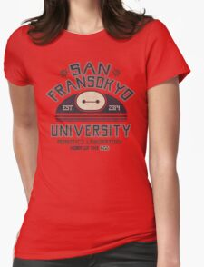 San Fransokyo University Womens Fitted T-Shirt
