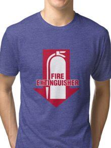 Fire Extinguisher  Tri-blend T-Shirt