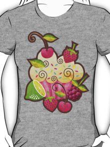Tutti Frutti Cupcake T-Shirt