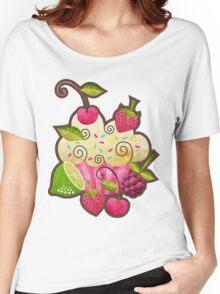 Tutti Frutti Cupcake Women's Relaxed Fit T-Shirt