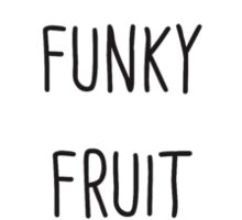 Funky Fruit Circle Sticker