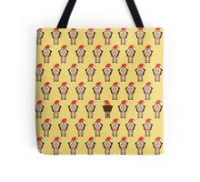 African Xmas - monkey Tote Bag