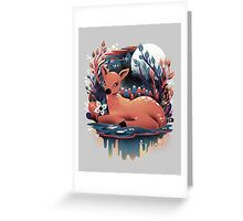 The Red Deer Greeting Card