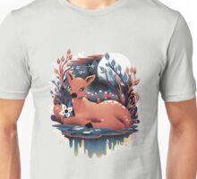 The Red Deer Unisex T-Shirt