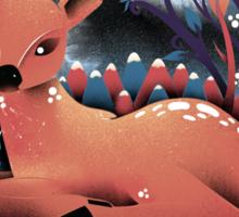 The Red Deer Sticker