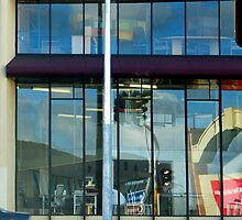 WINDOW CONSTRUCTION REFLECTION by SofiaYoushi