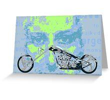 Religious Biker Greeting Card
