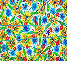 Happiness Pattern by marlene veronique holdsworth