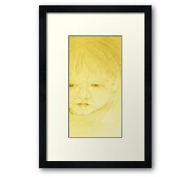 Young Thoughts Framed Print