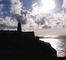 Lighthouse   Cape St. Vincent  Portugal by Paul Kassay