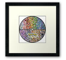POKEMON BALL OF POKEMON Framed Print