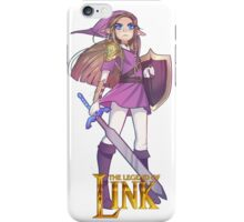 Female Link Purple iPhone Case/Skin